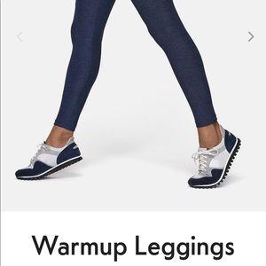 Outdoor Voices Navy Warmup Legging